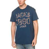 Tricouri Pat Originals Men's Dark Blue T Shirt Barbati
