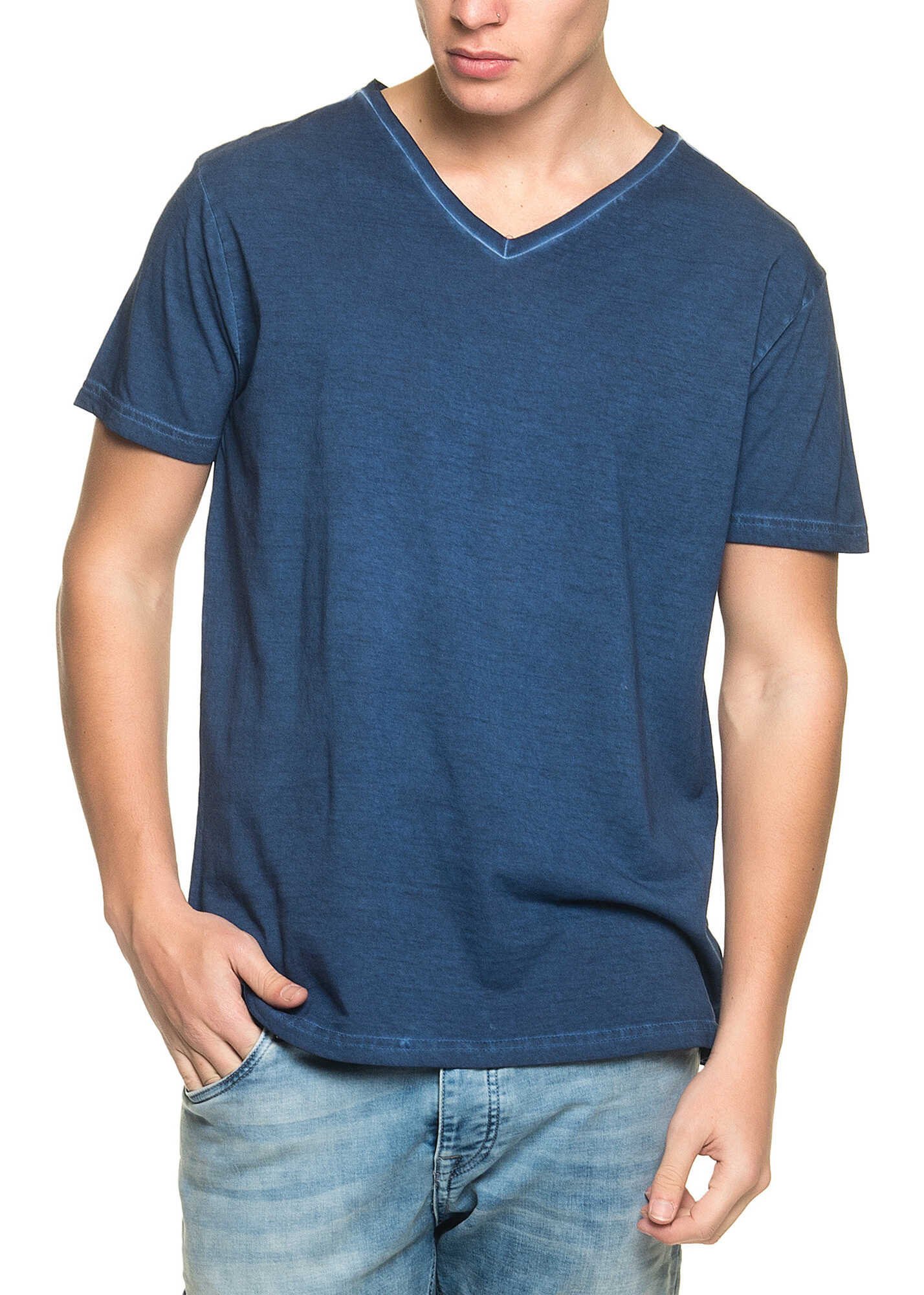 Tricou Barbati Urban Surface Mens Blue T Shirt Wit