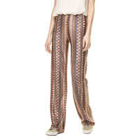 Pantaloni Women S Wide Legged Pants With Print Femei