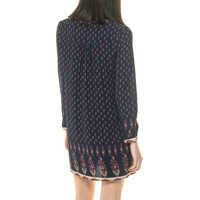 Rochii Shirt Dress Blue Women's Dress Femei