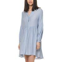 Rochii Women's Light Blue Dress Femei