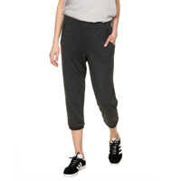 Pantaloni de Trening Women S Black 7 8 Fleece Sweatpants Femei