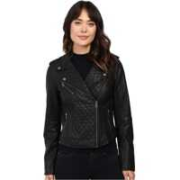 Jachete Levi's® Faux Leather Quilted Asymmetrical Motorcycle Jacket