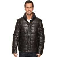 Geci de iarna Fly Front Quilted Puffer w/ Sherpa Lined Collar Barbati