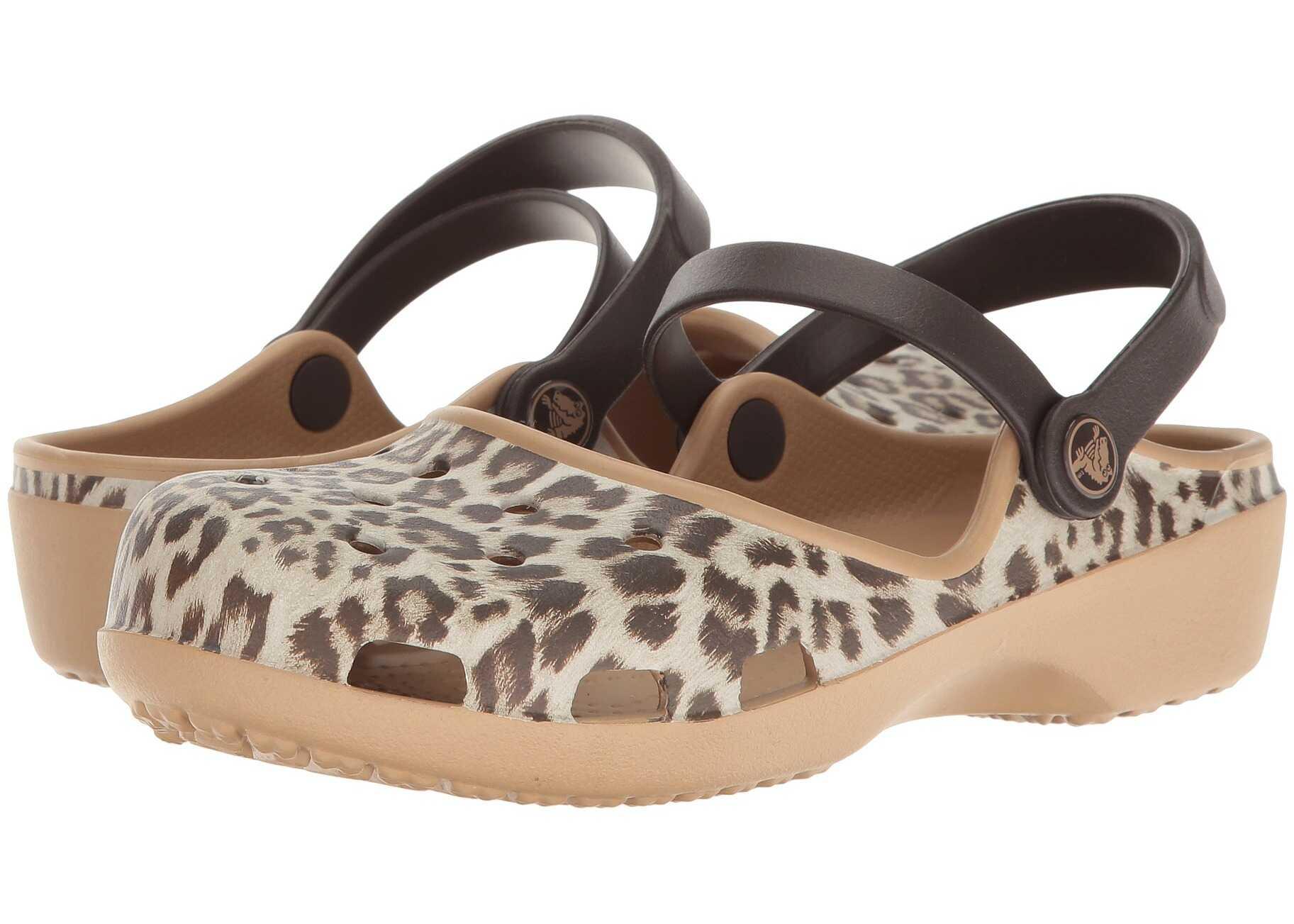 Crocs Karin Graphic Clog Leopard