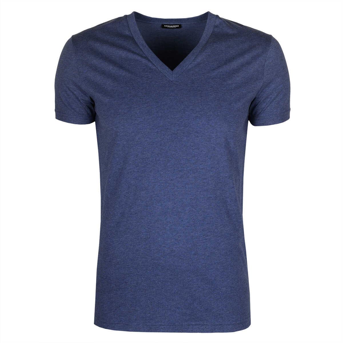 DSQUARED2 T-shirt Niebieski