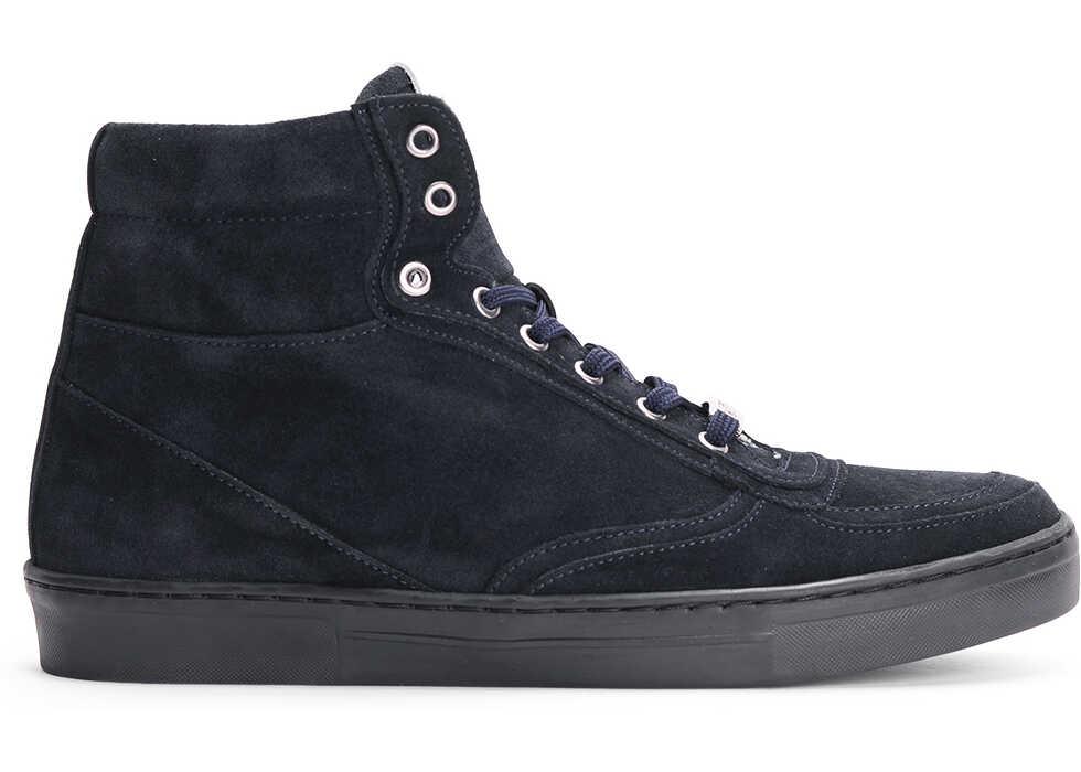John Galliano Galliano Sneakersy Granatowy