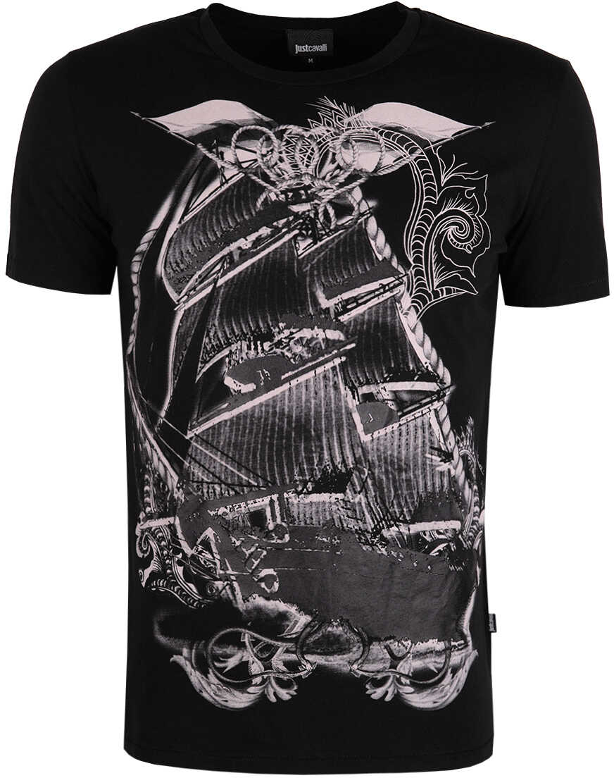 Roberto Cavalli Just Cavalli T-shirt Czarny