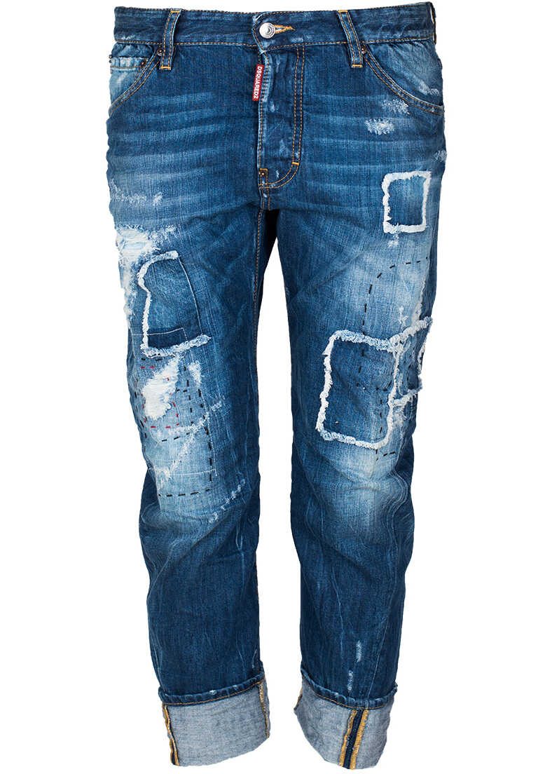 DSQUARED2 Jeansy Work Wear