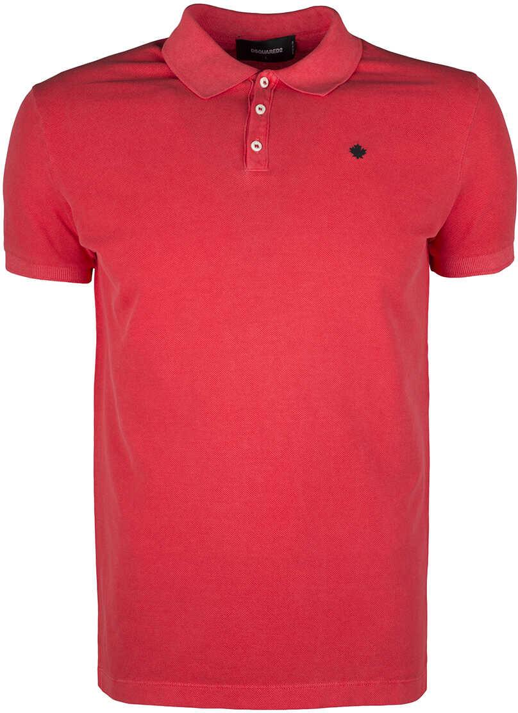 DSQUARED2 Koszulka Polo Koralowy