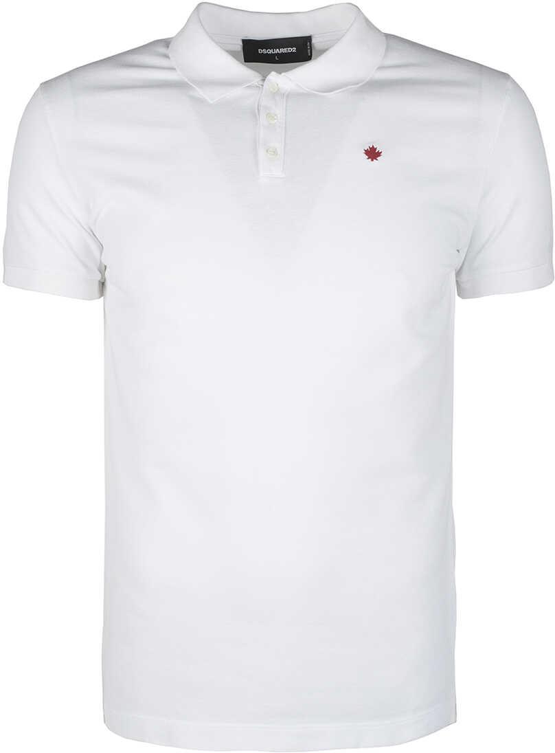 DSQUARED2 Koszulka Polo Biały