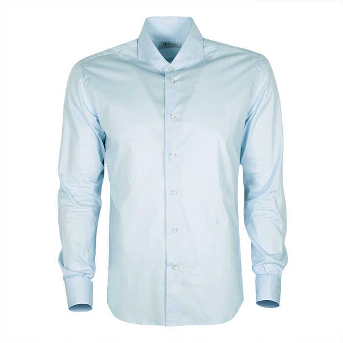 Trussardi Collection Koszula Błękitny