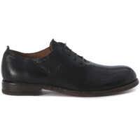 Pantofi Black Nabuck Lace Up Shoes Barbati