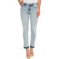 Blugi Ankle Skinny Jeans in Isla Blue Destruct Wash Femei