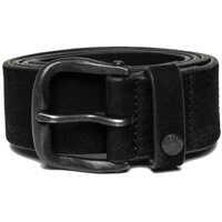 Curele Men S Nubuck Leather Black Belt Barbati