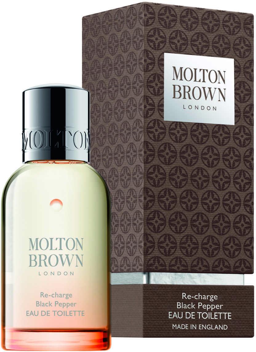 Molton Brown Re Charge Black Pepper Eau De Toilette 50Ml Brown