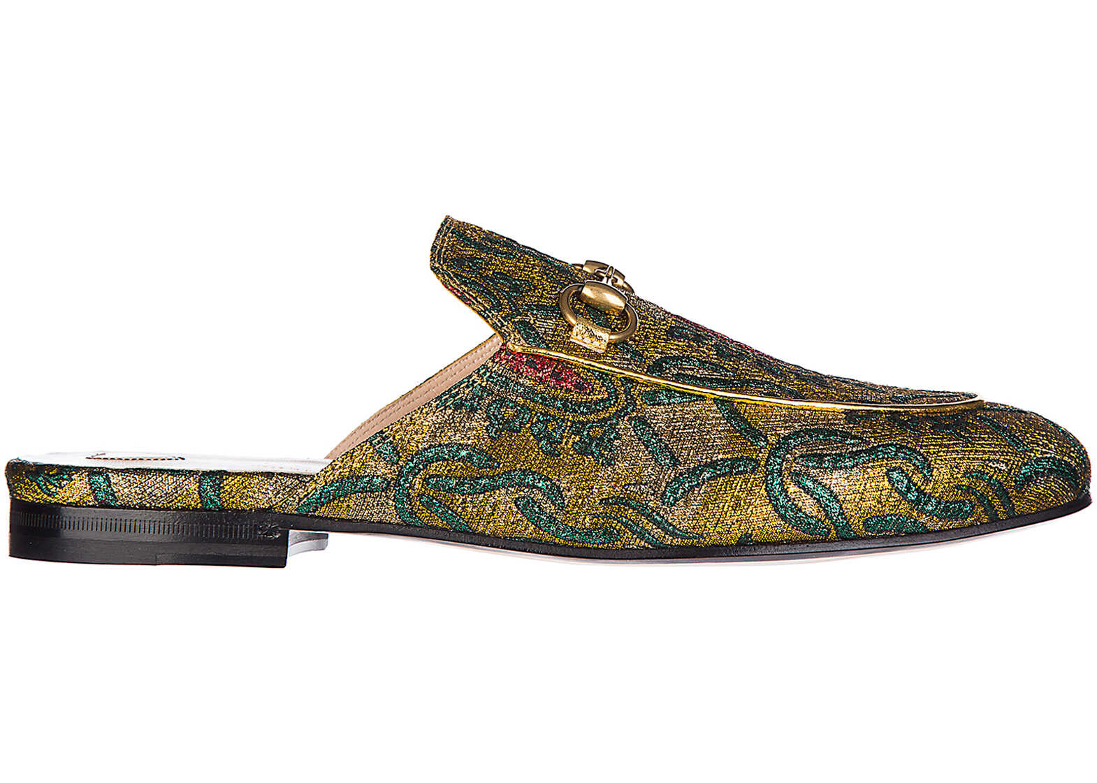 Gucci Slippers Princetown Gold