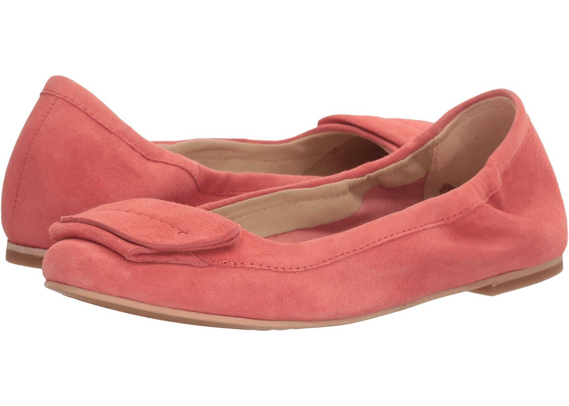 Hush Puppies Livi Heather Coral Suede