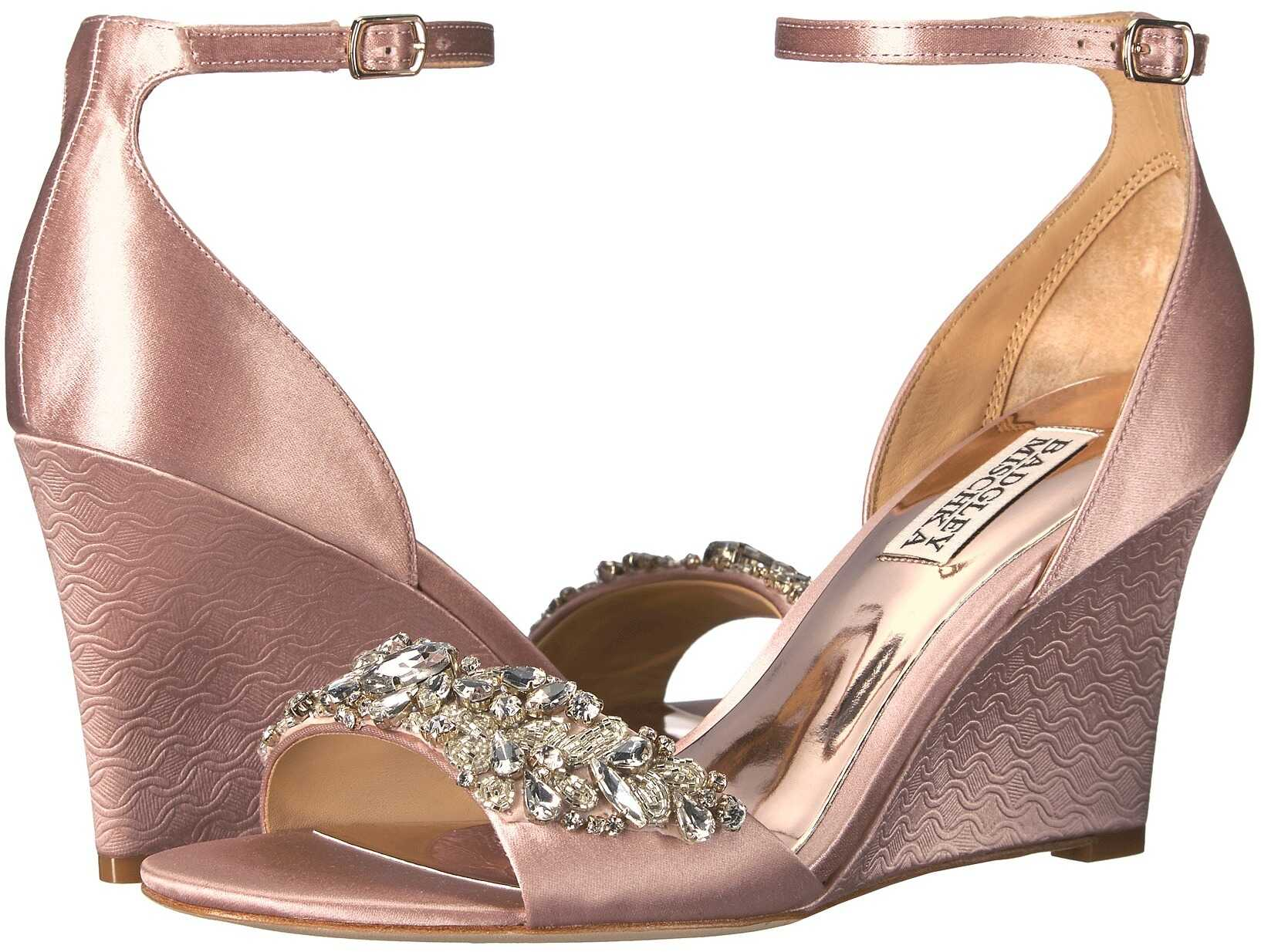Badgley Mischka Tyra Blush Satin