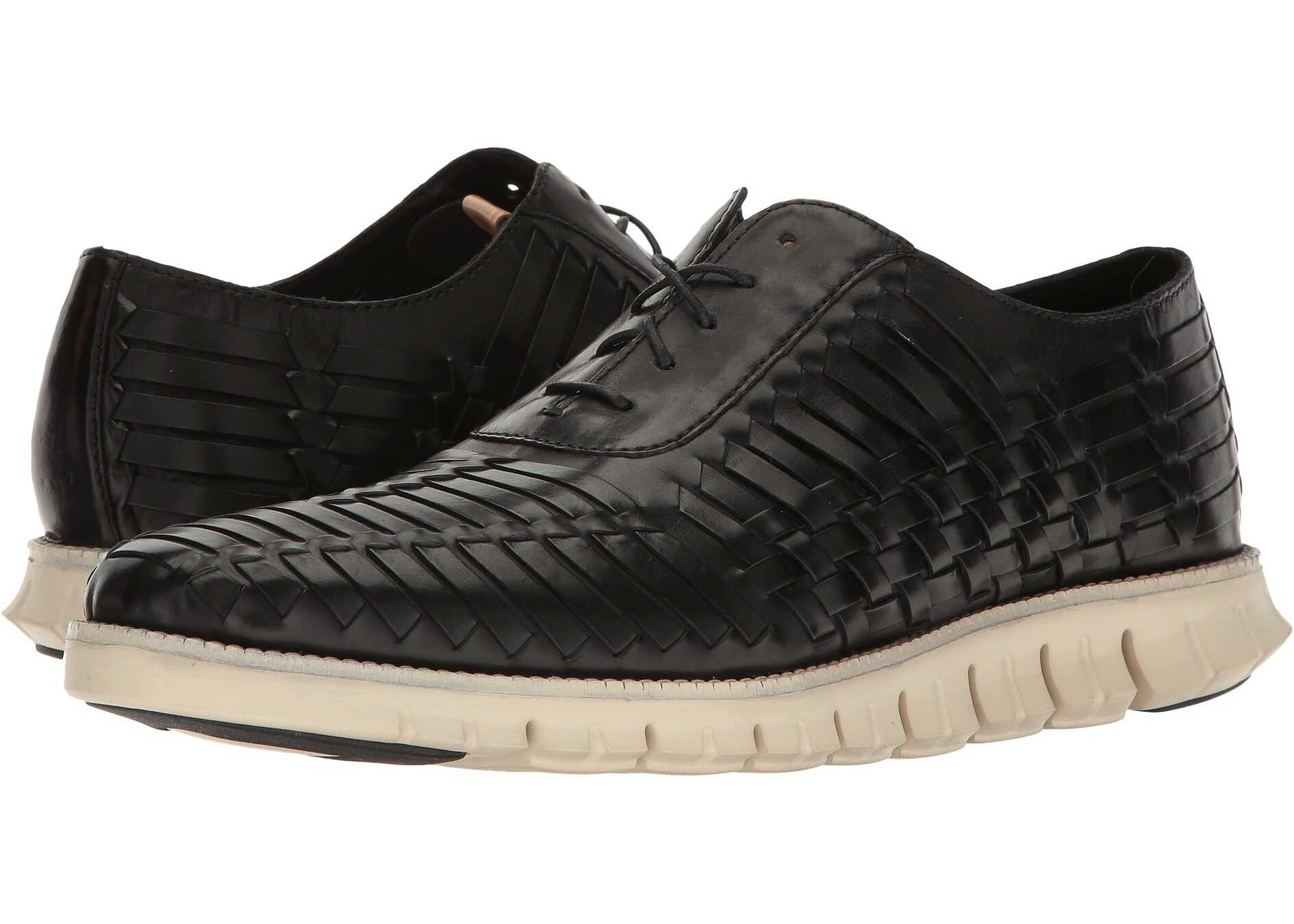 Cole Haan Zerogrand Huarache Oxford Black