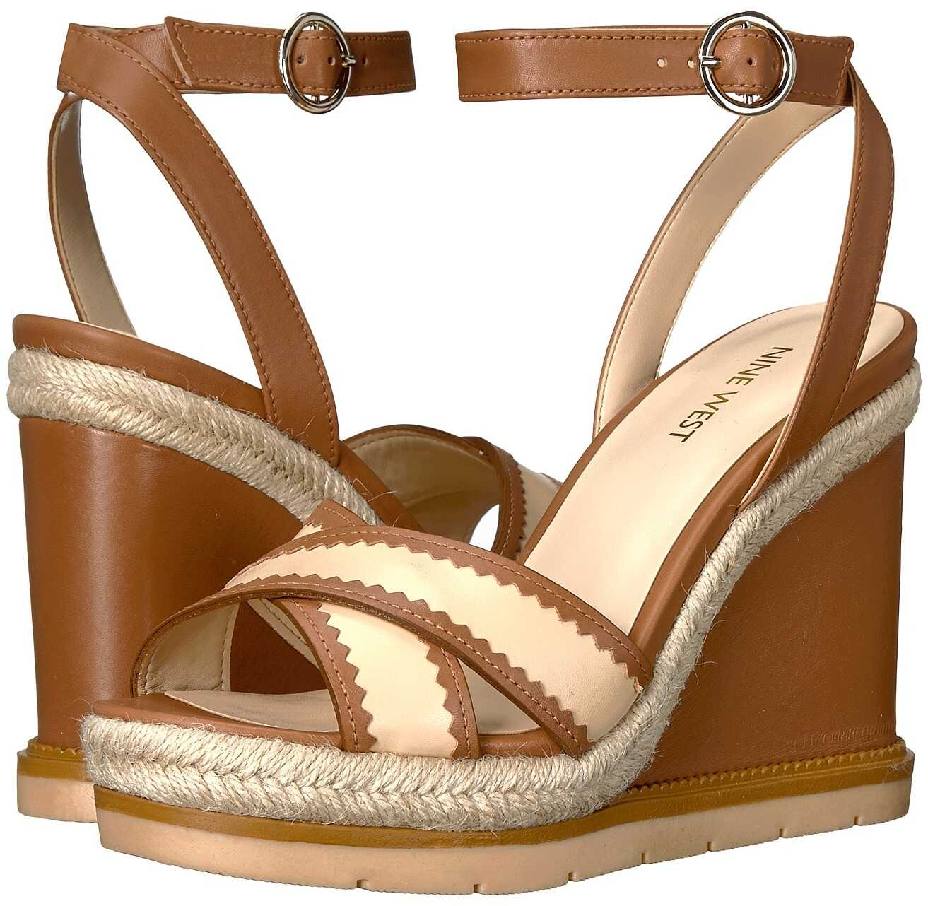 Nine West Vaughn Dark Natural/Light Natural Leather