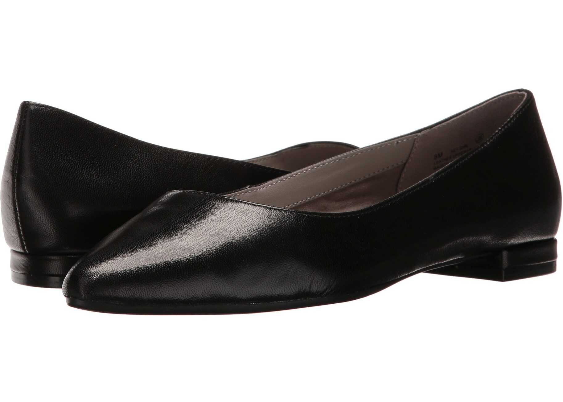 Aerosoles Hey Girl Black Leather