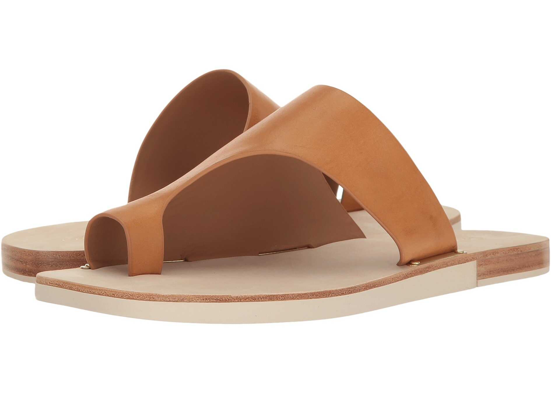 Calvin Klein Rinona Almond Tan Leather