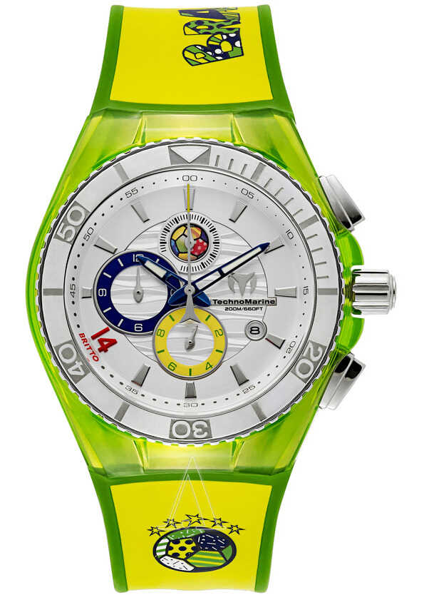 Technomarine Brazil- Cruise Tribute to Soccer 114023C Watch Silver