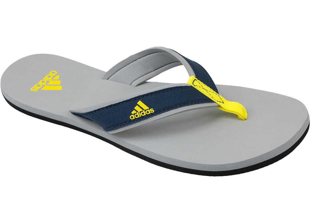adidas Beach Thong Jr Blue,Grey,Yellow