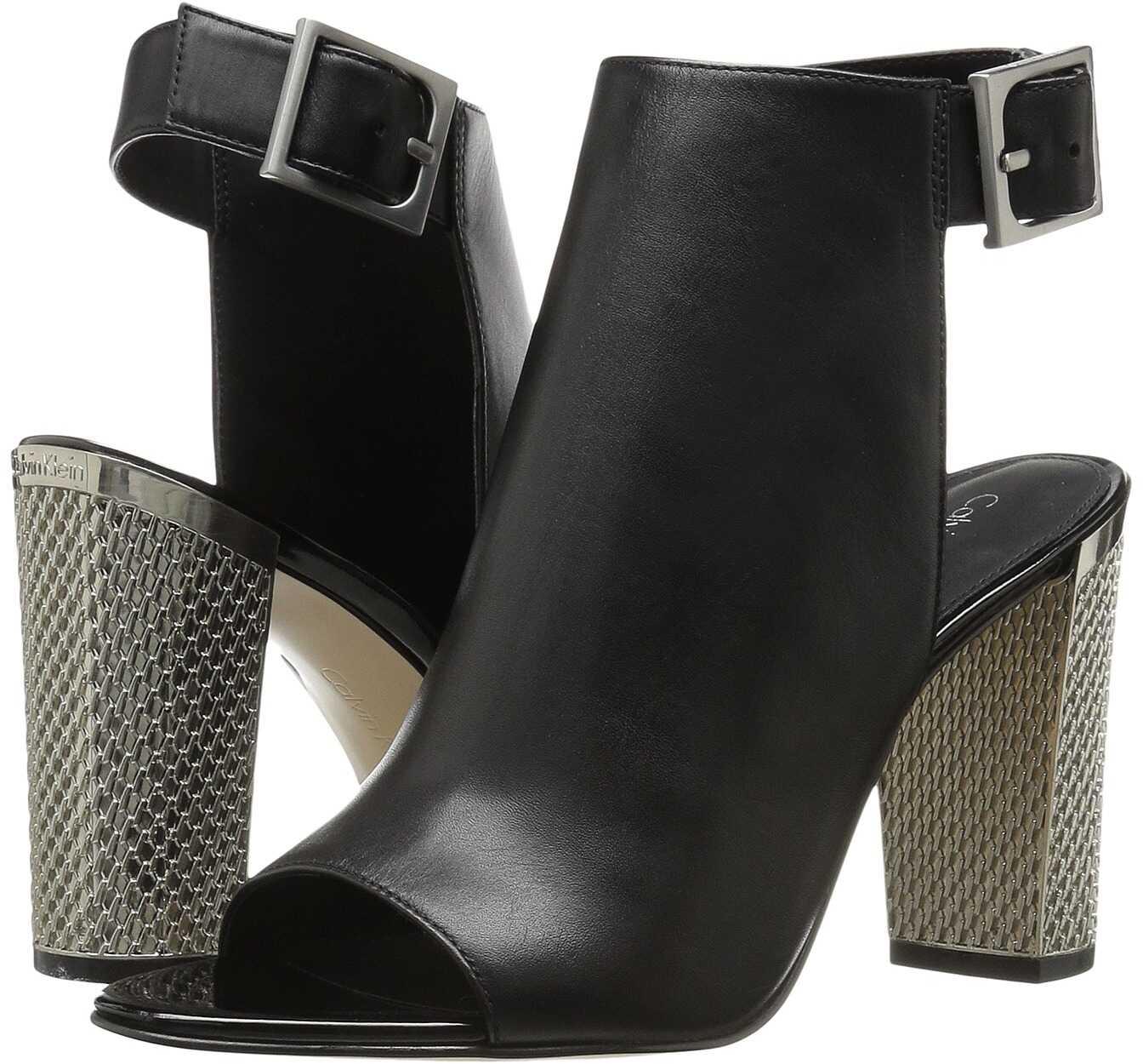 Calvin Klein Norah Black Leather