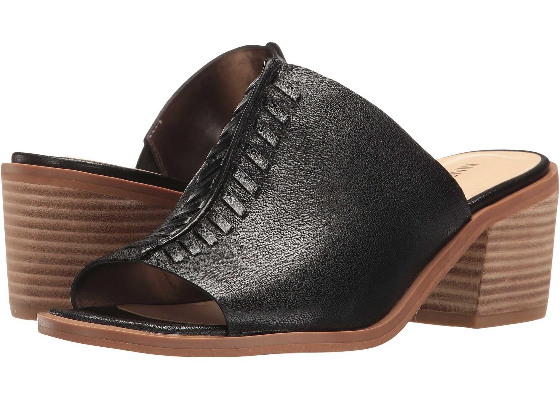 Nine West Rahima Black Leather