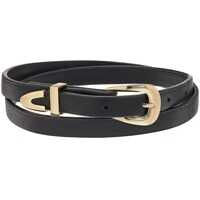 Coliere Leather Wrap Around Choker Necklace Femei