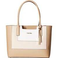 Genti de Mana Calvin Klein Key Item Saffiano Leather Tote