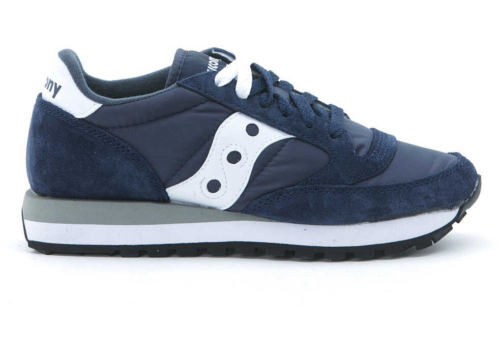 Saucony Sneaker Saucony Jazz In Blue Suede And Nylon Blue