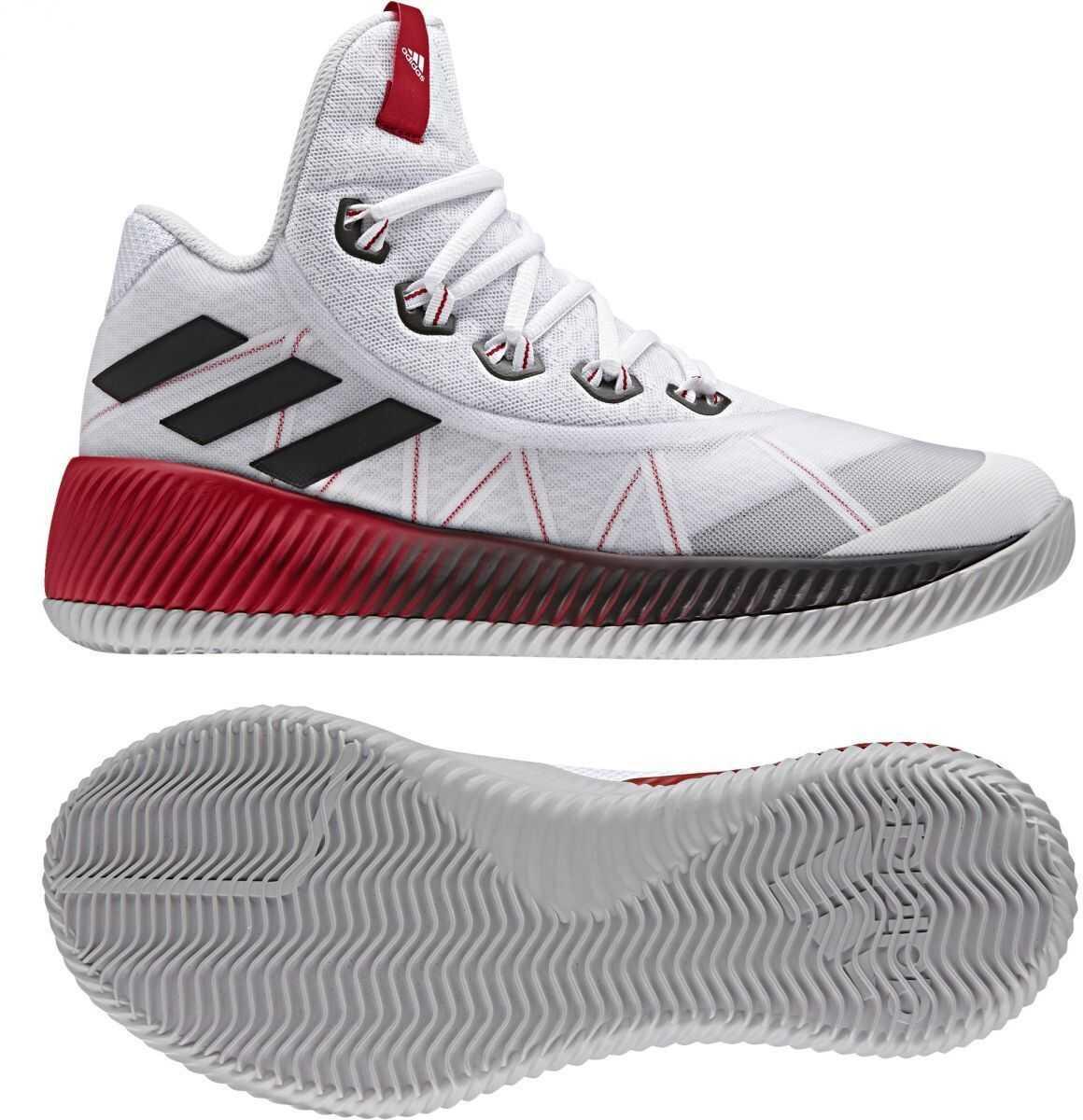 adidas Energy Bounce BB FTWWHT/REFLEC/SCARLE