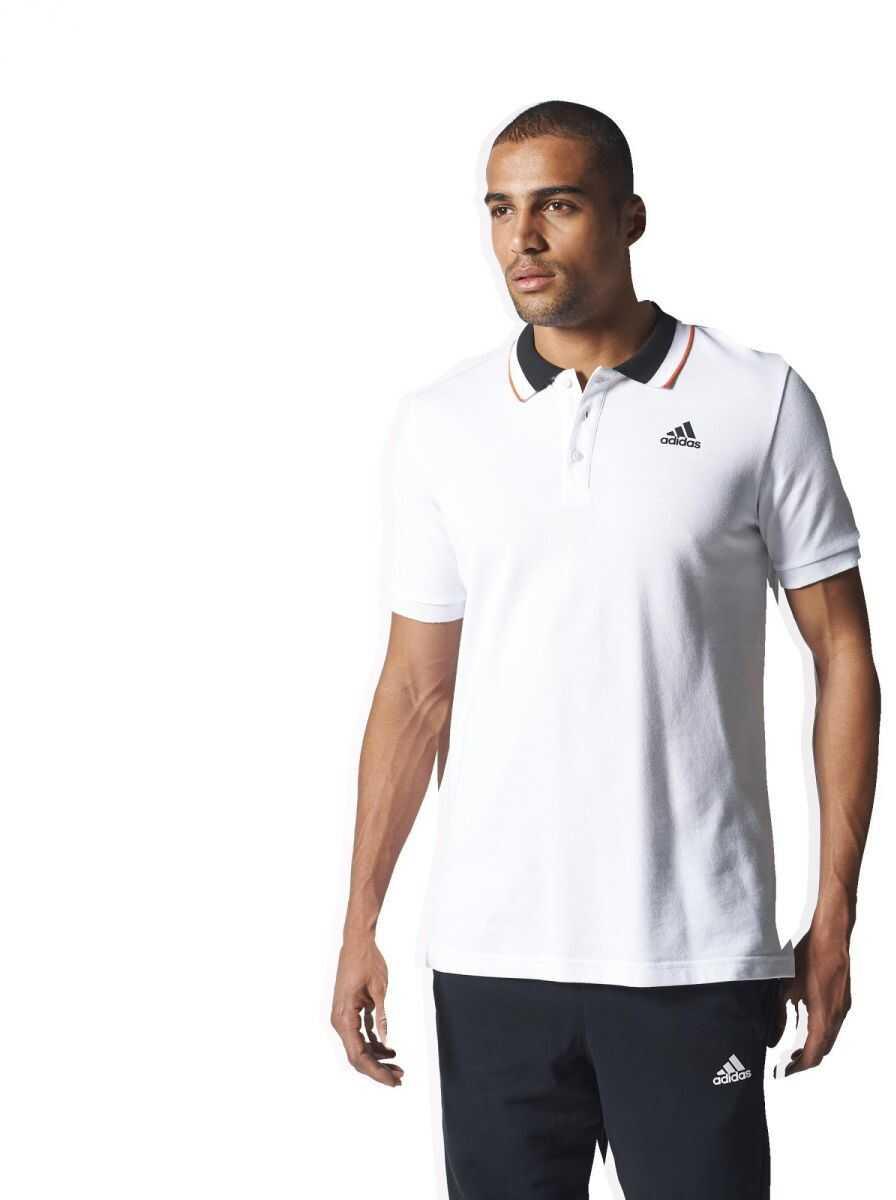 adidas ESS POLO WHITE/BLACK