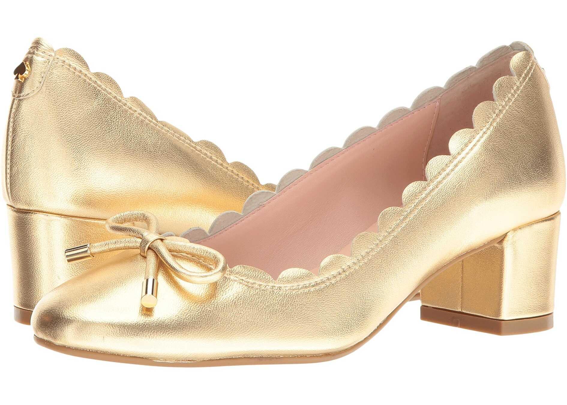 Kate Spade New York Yasmin Gold Metallic Nappa