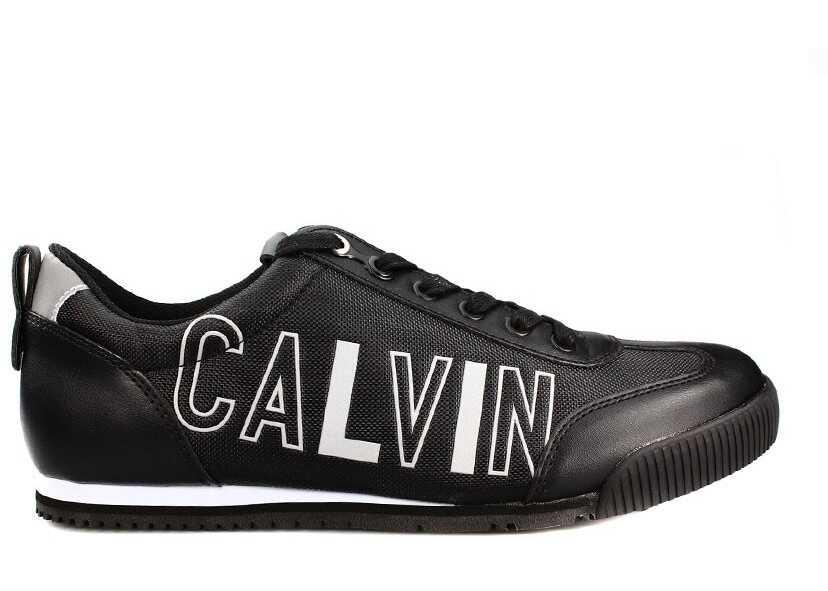 Calvin Klein Welby Smooth/Nylon S0501 BLK Czarny