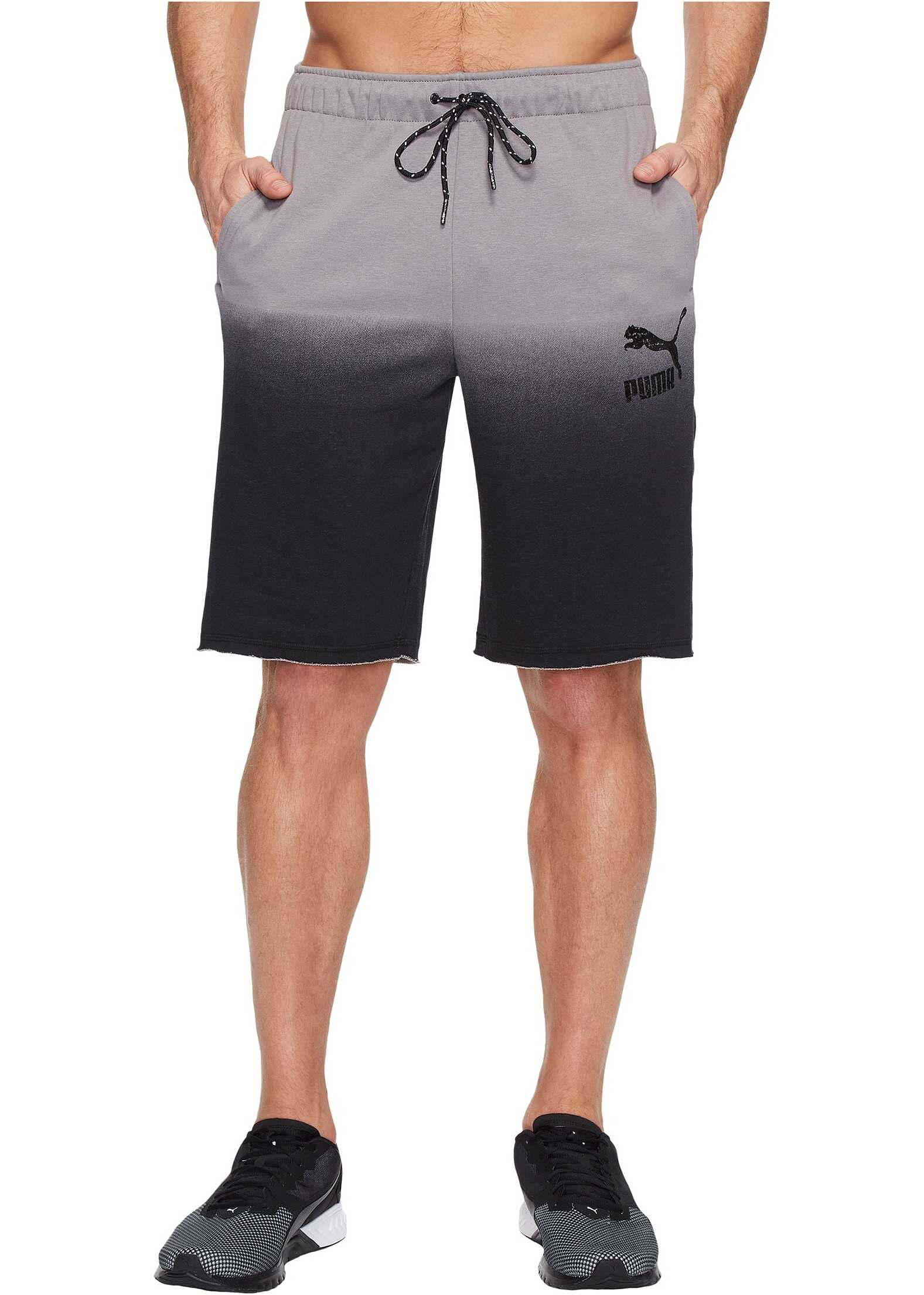 PUMA Flash Shorts Steel Gray/Puma Black