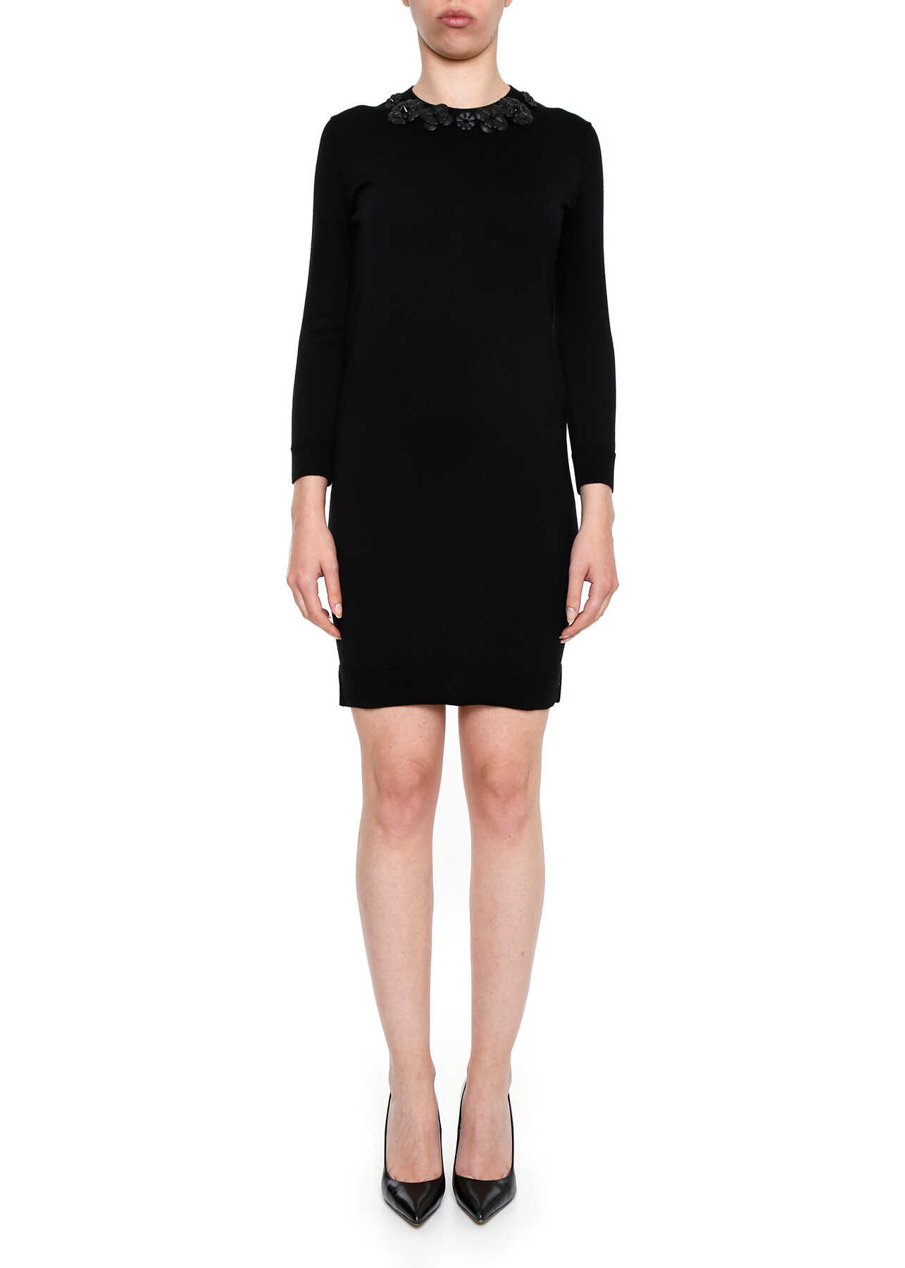 Fendi Knit Dress BLACK