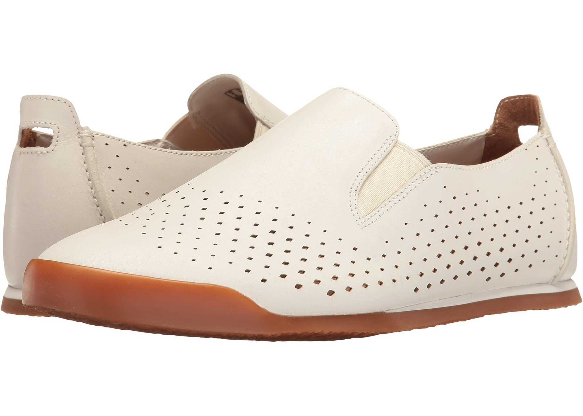 Clarks Siddal Step White Leather