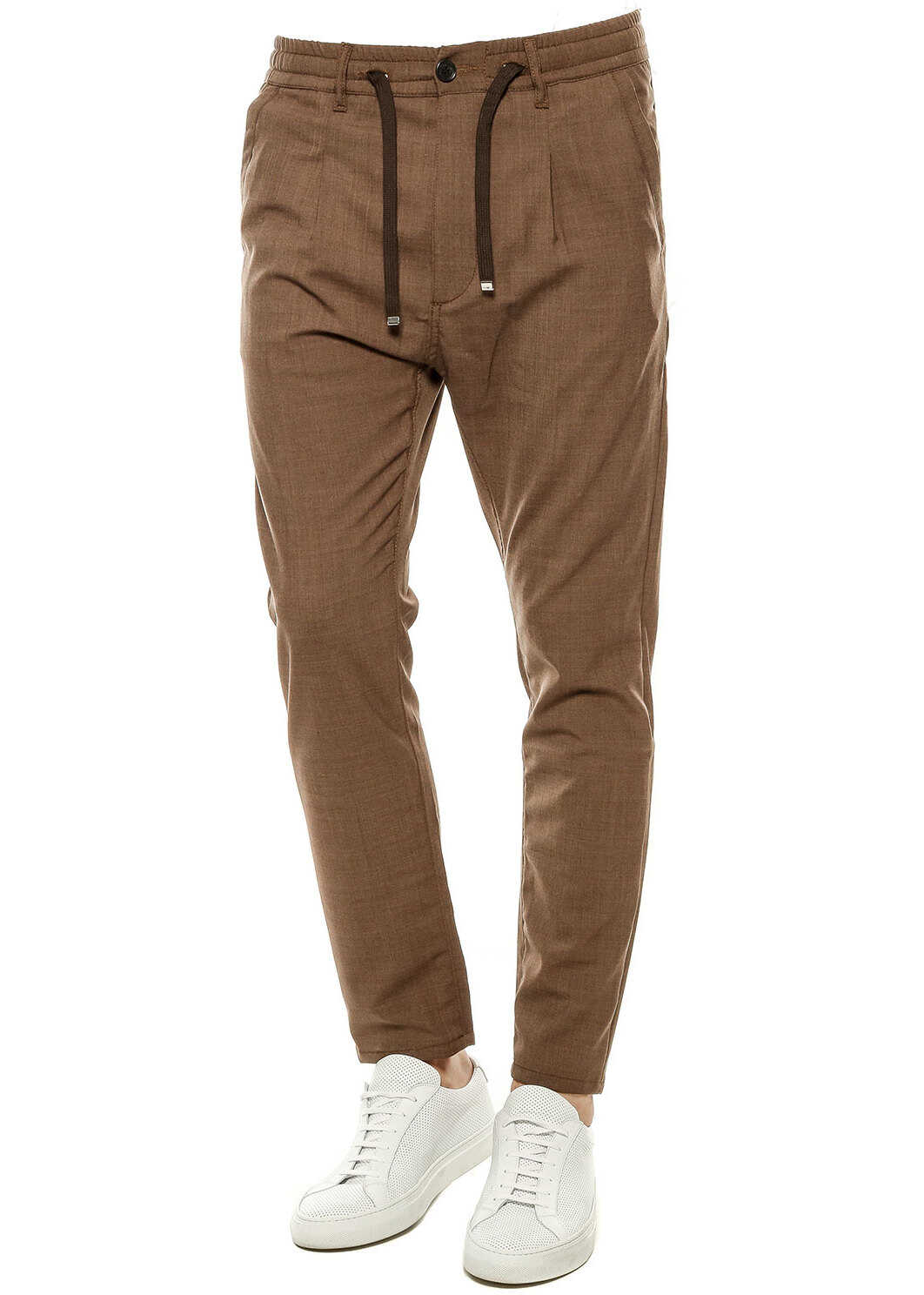 Cruna Wool blend pants* Brown