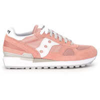 Tenisi & Adidasi Saucony Sneaker Saucony Shadow In Pale Pink Suede And Fabric Mesh