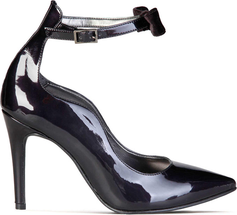 Pantofi Cu Toc Made In Italia Angelica Black