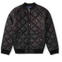 Geci Quilted Baseball Jacket Baieti