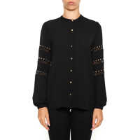 Camasi Michael Kors Blouse With Lace Inserts
