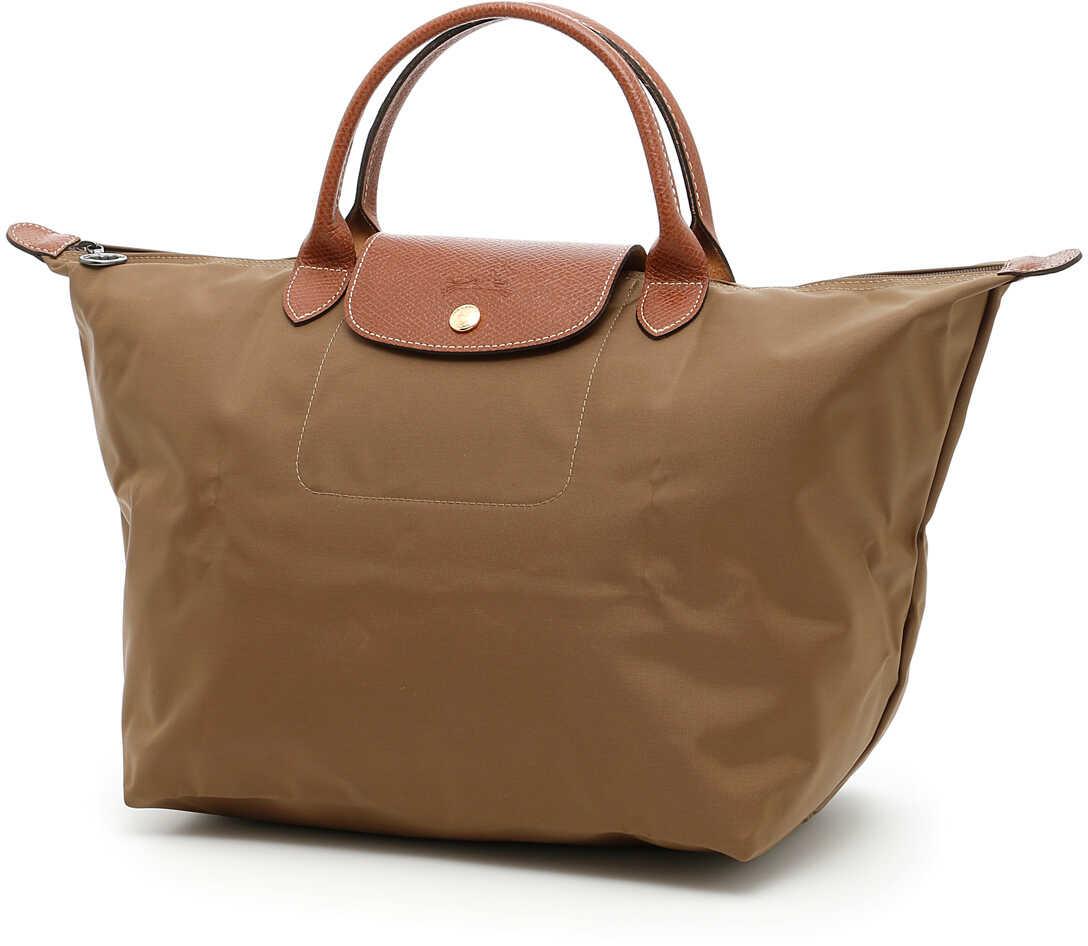 Longchamp Le Pliage Medium Shopping Bag KAKI