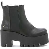 Pantofi cu Toc Flat Beatles Windsor Smith Mod. Alien In Black Leather Femei