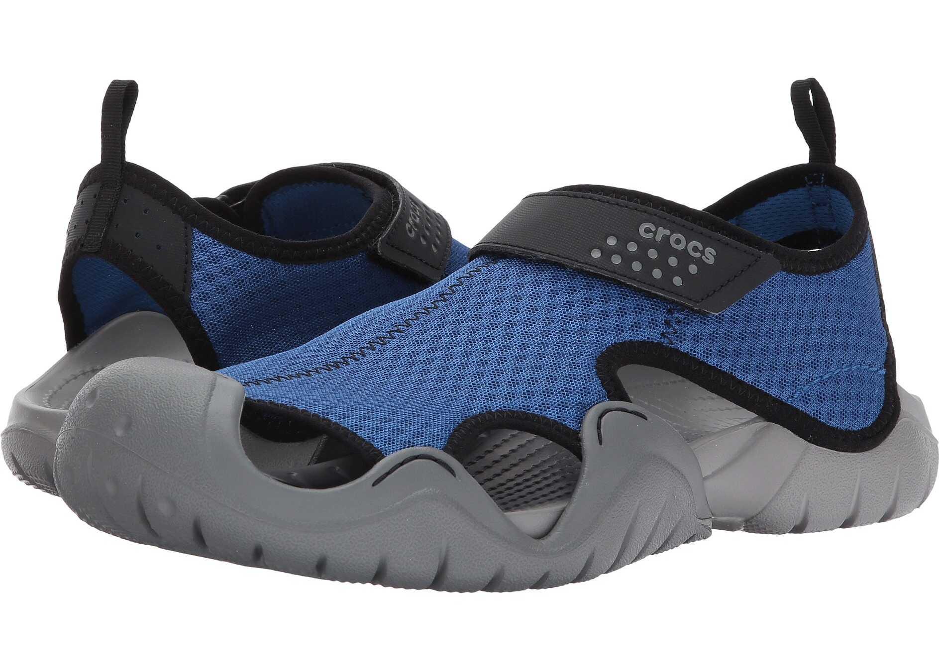 Crocs Swiftwater Sandal Blue Jean/Slate Grey