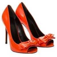 Pantofi cu toc Leather Dècolletè Femei